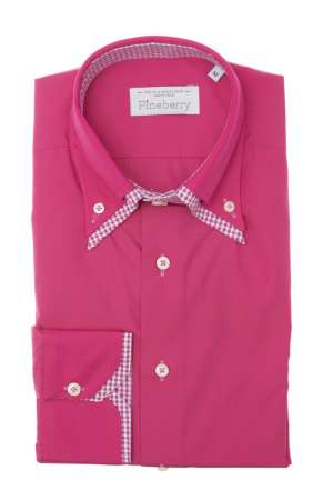 "Camasa Barbati Roz Slim Fit ""Very Pink"""