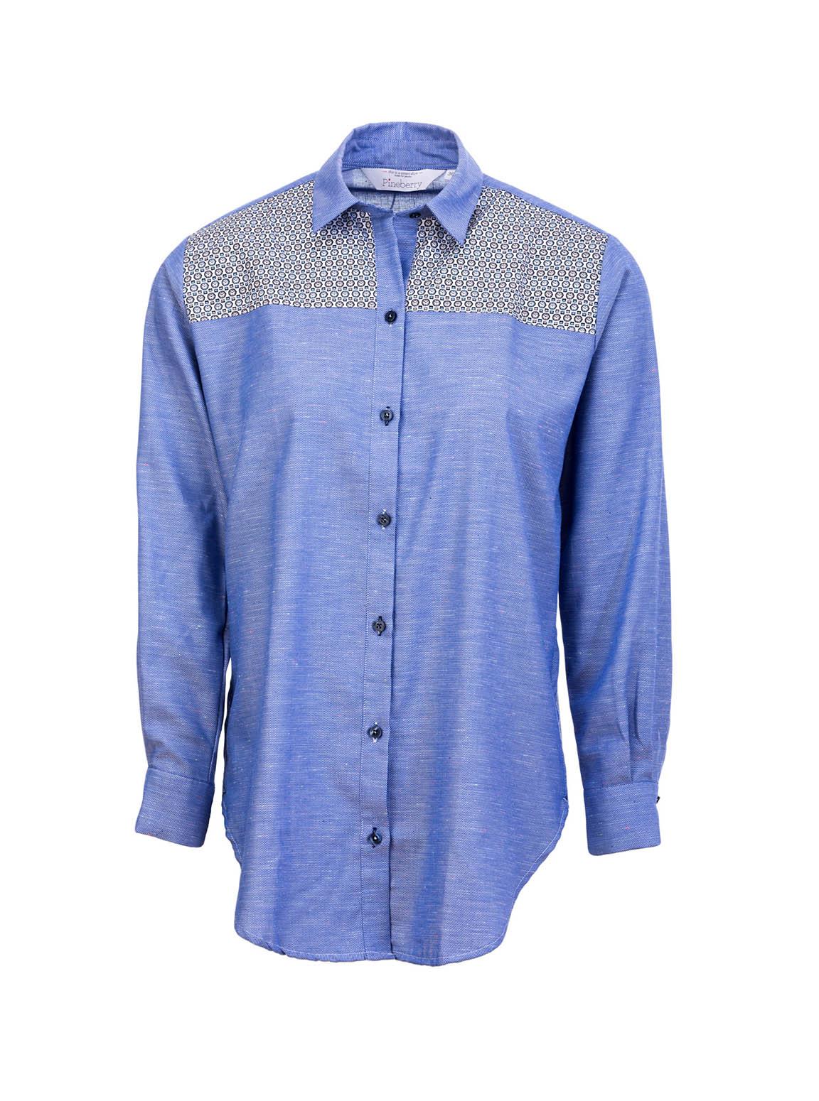 Lady Blue Time Shirt