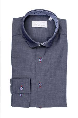 Camasa Barbati Denim Smart-Casual