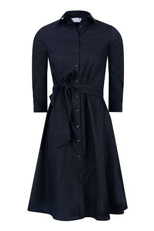 rochie tip camasa midi inchisa