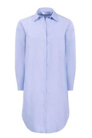 rochie tunica bleu