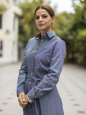 Rochie Scurta Neagra cu Romburi Albe