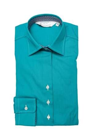 Camada Dama Slim Fit Turquoise