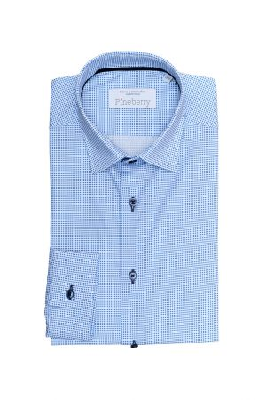 Camasa Barbati Slim Fit Buline Bleu