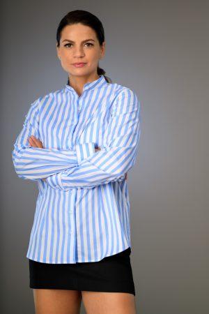 Camasa Dama Regular Dungi Bleu