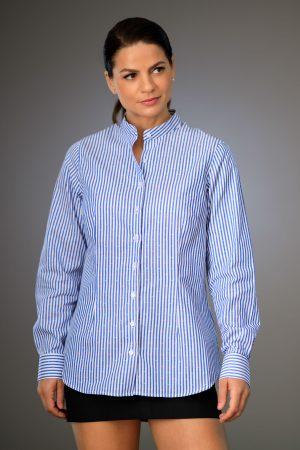 Camasa Dama Regular Dungi Albastre